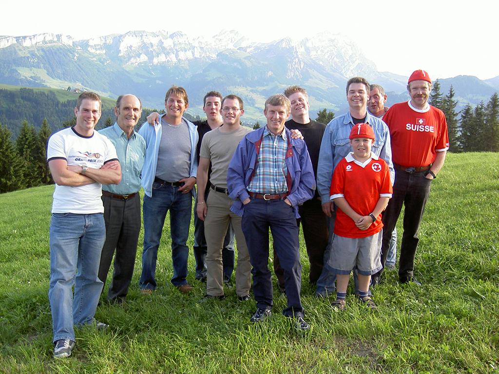 Besonderer Beliebtheit erfreuen sich jeweils die Kantonalen im Appenzellerland. Im 2004 wurde deshalb das KSF AI besucht.